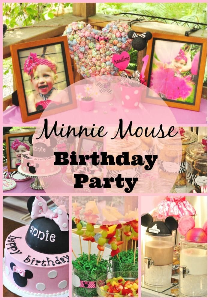 How to Plan a Minnie Mouse First Birthday Party. Minnie Mouse First Birthday Party Favors and more Minnie Mouse First Birthday Party ideas. Minnie Mouse First Birthday Party Decorations ideas are also included in this post.