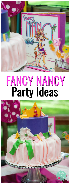 Fancy Nancy Birthday Party - Fancy Nancy Birthday Party Supplies & More