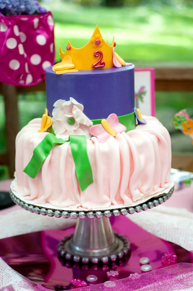 Fancy Nancy Cake Decorations