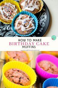Birthday Cake Muffins Recipe
