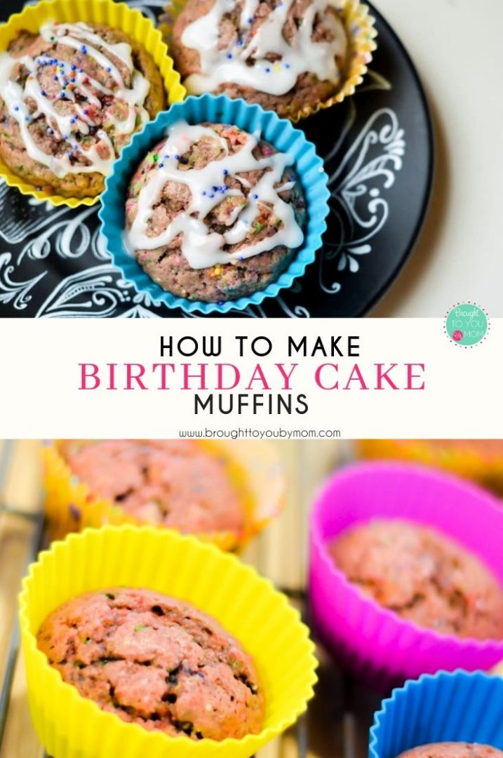 Birthday Cake Muffins Recipe