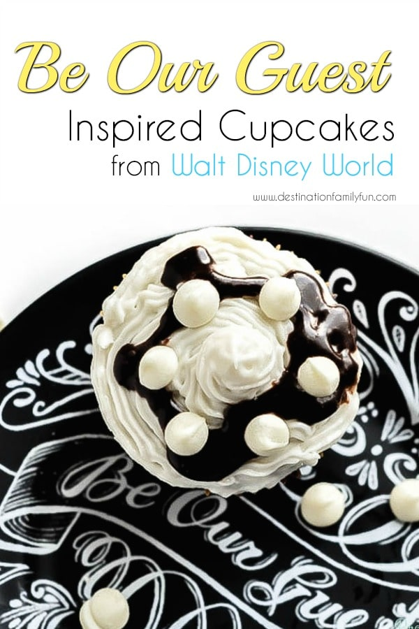 Be Our Guest Cupcakes Recipe from Walt Disney World