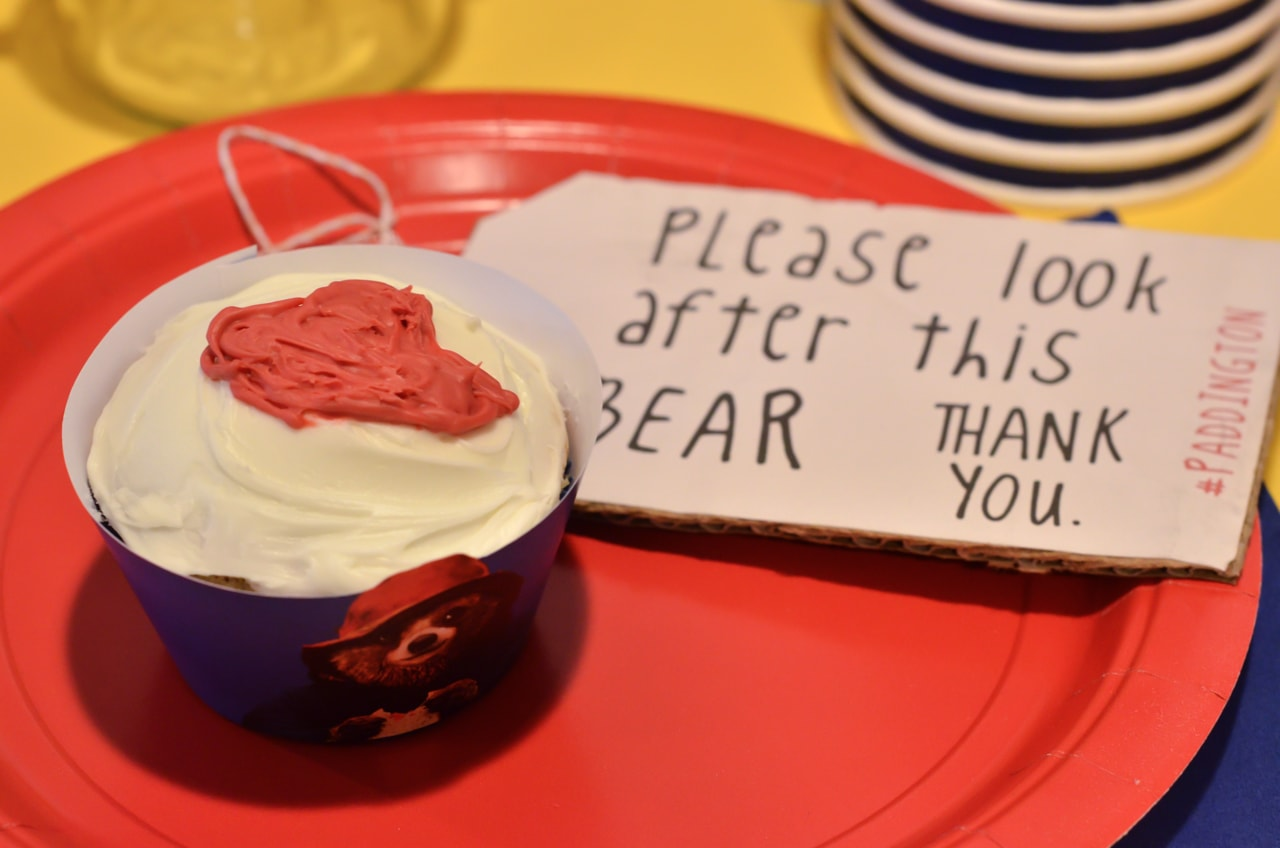 Paddington Bear Movie Night Ideas - Paddington Bear Cupcakes