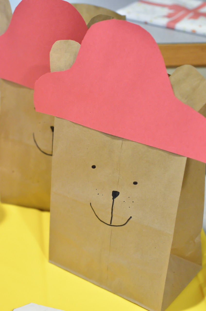 Paddington Bear Movie Night Treat Bags