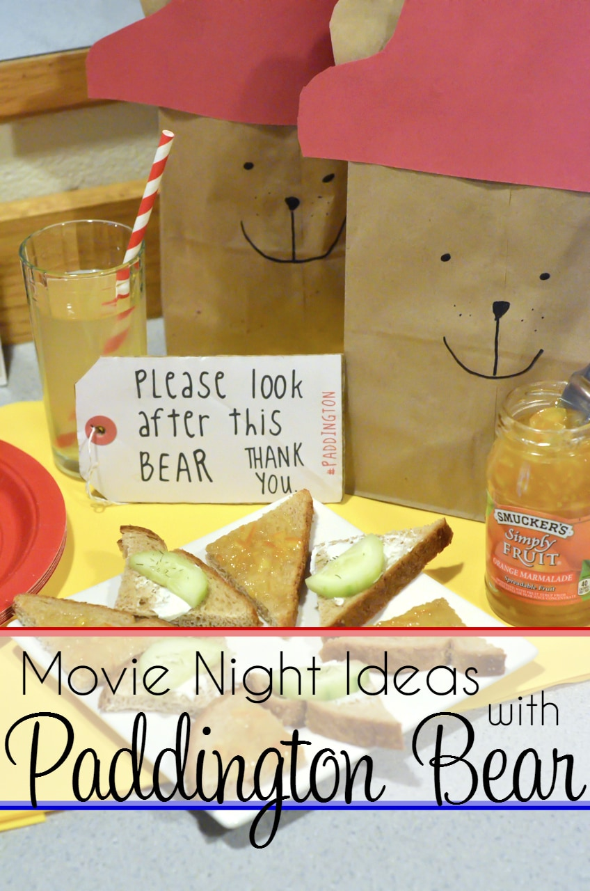 Paddington Bear Movie Night Ideas for Kids