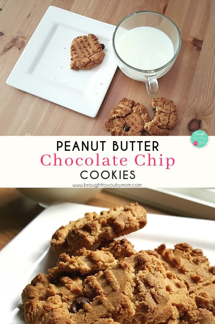 Perfectly Peanut Butter Chocolate Chip Cookies