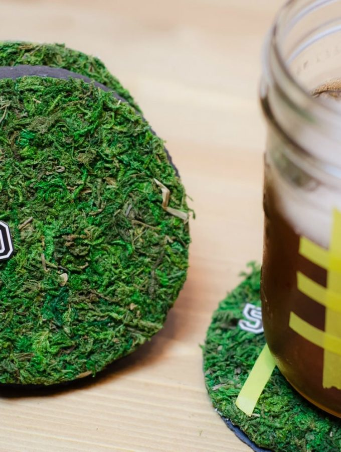 DIY Football Coasters