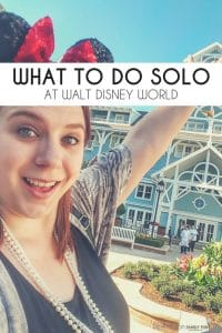 Check out the Ultimate Guide to a Disney Solo Trip. What can you do when going along to Disney World? How to travel solo to Disney? Check out tips from someone who has done it several times. I even moved there once...alone. #Disney #travel #solo #waltdisneyworld