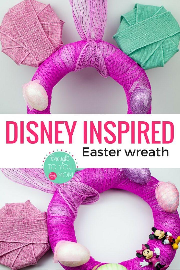 Disney Inspired Easter Wreath