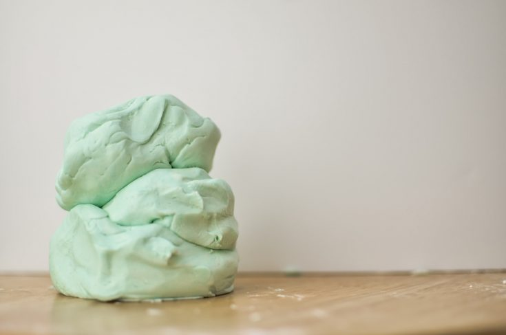 How To Make Playdough with Only Two Ingredients