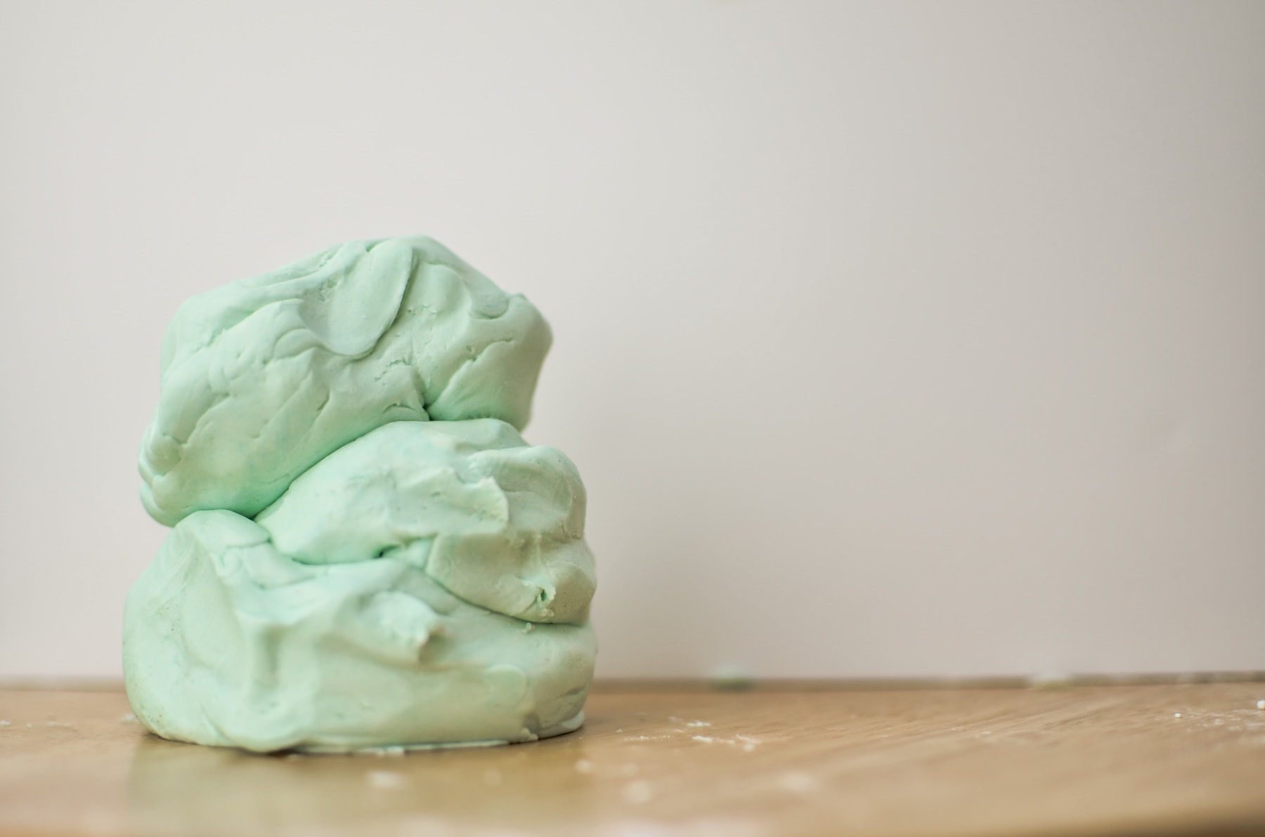 Playdough with Only Two Ingredients is easy to make and a fun activity for the kids.