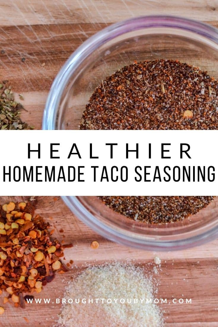 A healthy choice of knowing what is going into your food. A great Homemade Taco Seasoning Mix that is easy to make and bring out the flavor. #homemade #tacoseasoning