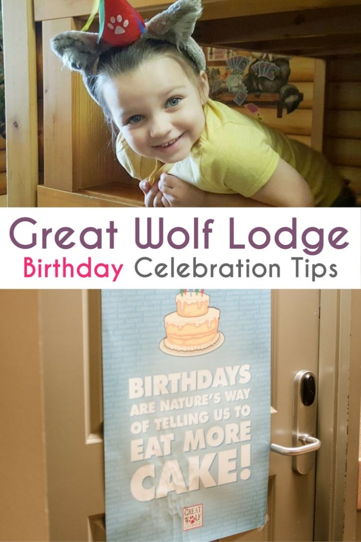 Great Wolf Lodge Birthdays