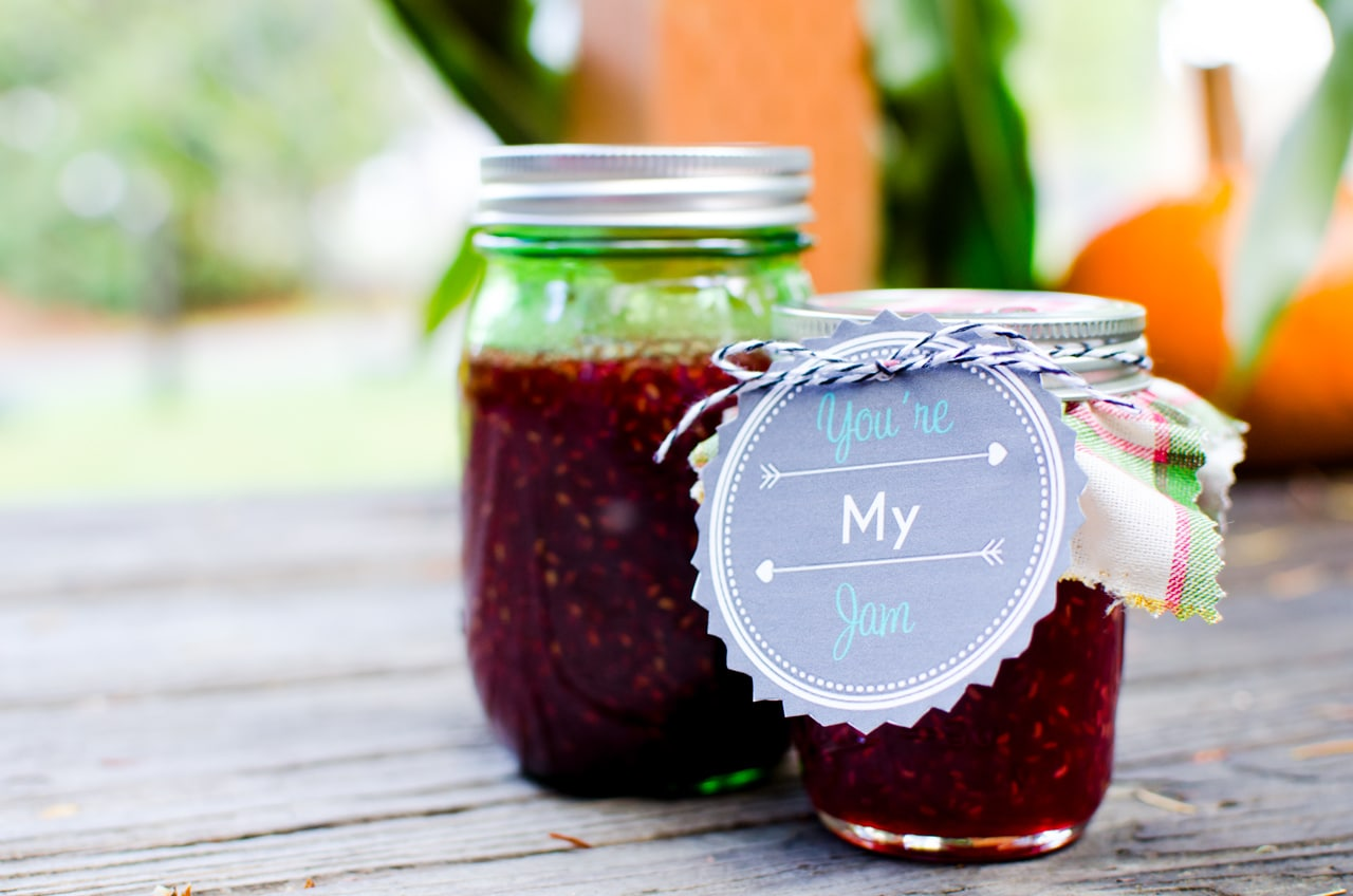 jelly jar labels