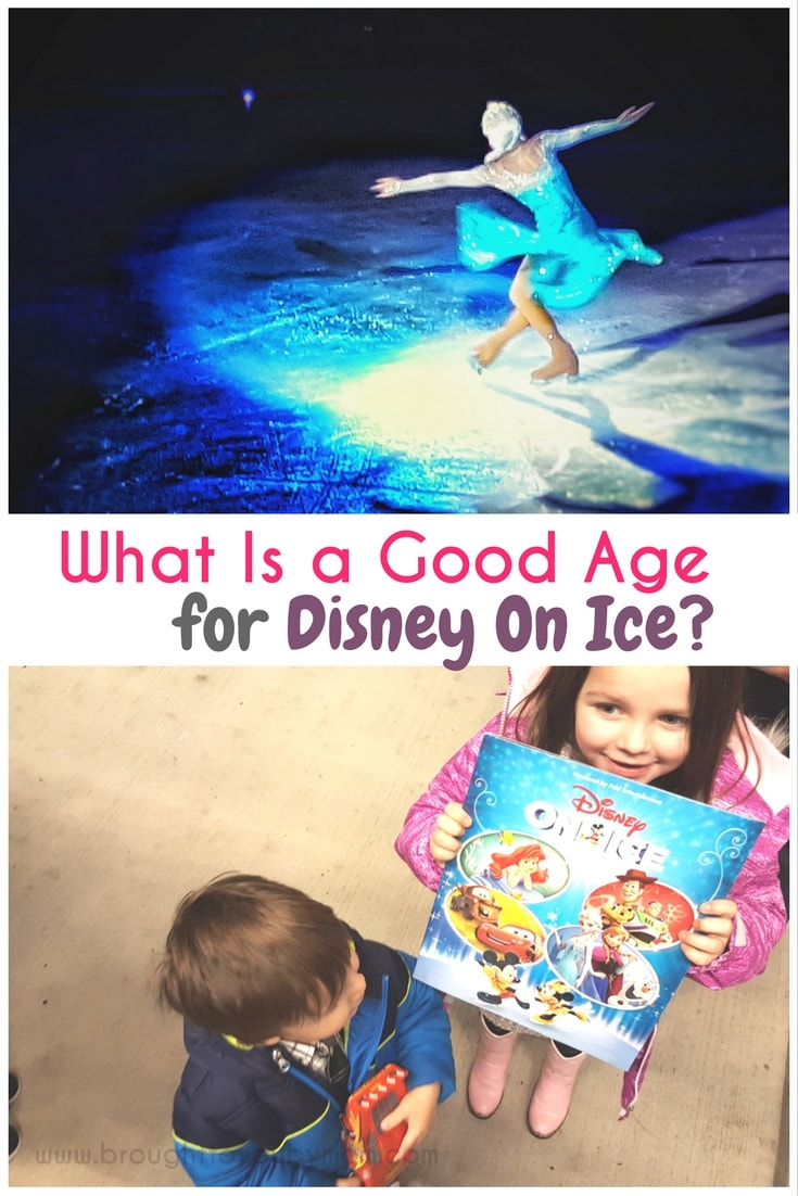 What is a good age for Disney On Ice? I was surprised how well my two-year-old enjoyed it! You might just be pleasantly surprised too. Read more Disney On Ice tips here. (hosted) #disneyonice