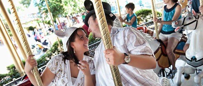 Carousel Honeymoon Disney World
