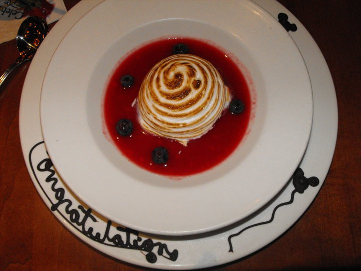 Special touches to desserts and dinners making a honeymoon at Walt Disney World special.