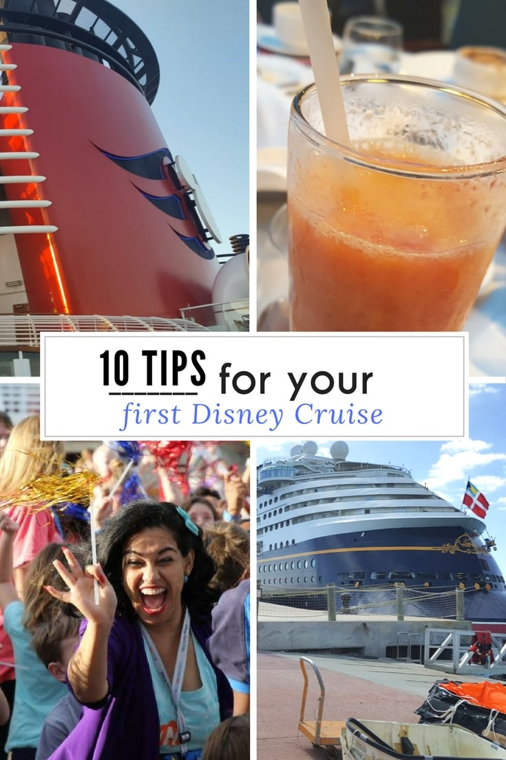 10 tips for your first Disney Cruise. If you've never been on a Disney Cruise, there are some fun things to do and items to pack. Travel tips for a Disney Cruise.