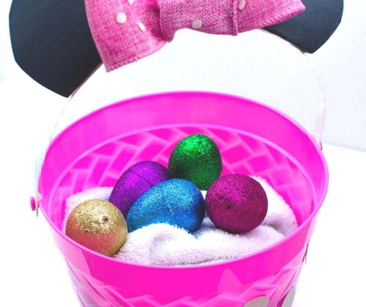 DIY Disney Easter Baskets - Minnie Mouse and Daisy Duck BFF Baskets