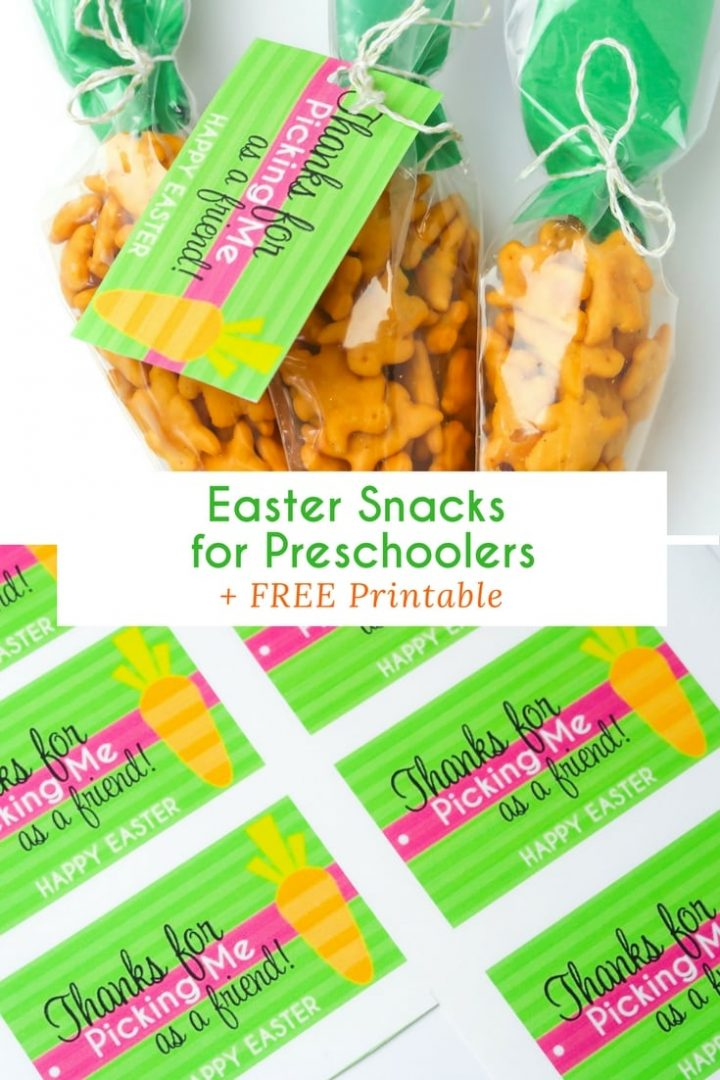 Easter Snacks for Preschoolers