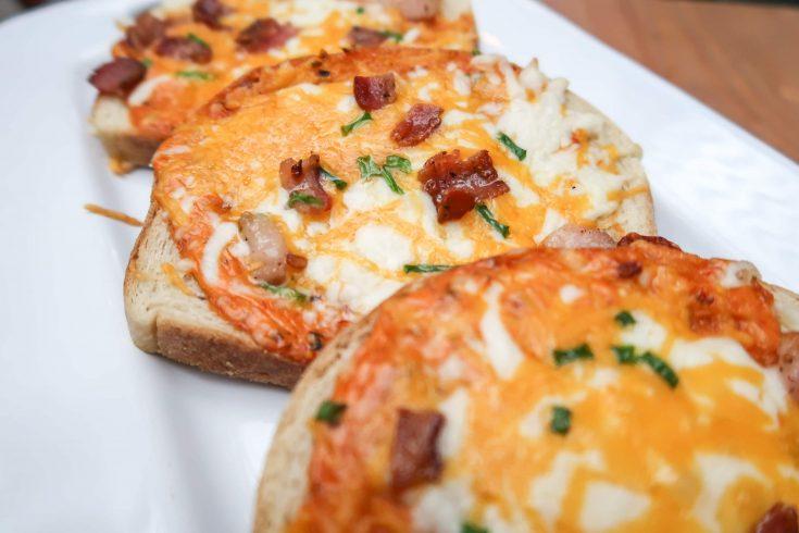 Bacon Ranch Pizza Sourdough Sliders