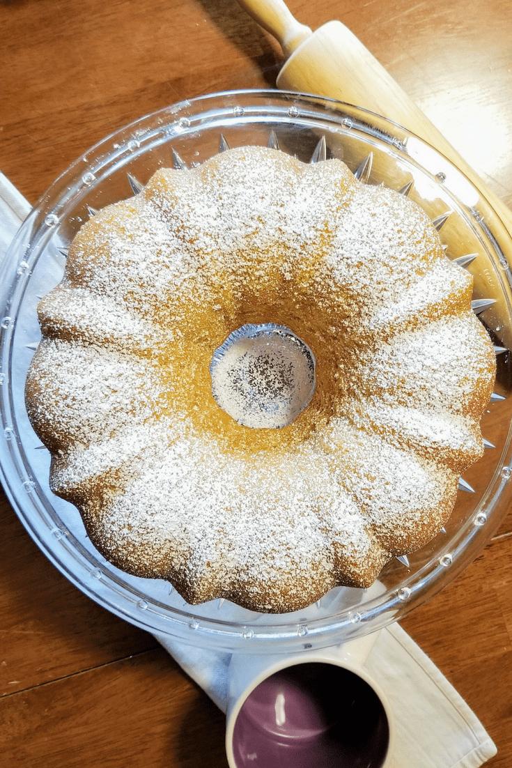Classic Vanilla Bundt Cake recipe