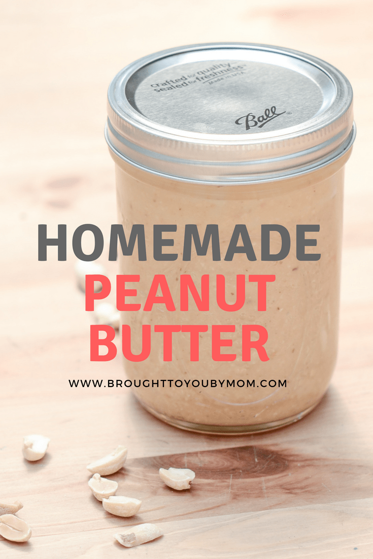 Homemade Peanut Butter is simple to make. Know what is going into your food by mixing these easy ingredients together for a classic. Make your own peanut butter at home with this easy peanut butter recipe.#peanutbutter #homemade #canning #recipe #makeathome #healthy #kids #recipe #kidsfood #kidsrecipe #pbj #peanutbutterandjelly #sanwhich #createathome #healthyrecipe #food