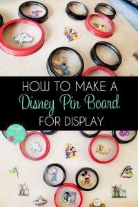 How to Make a DIY Disney Pin Board