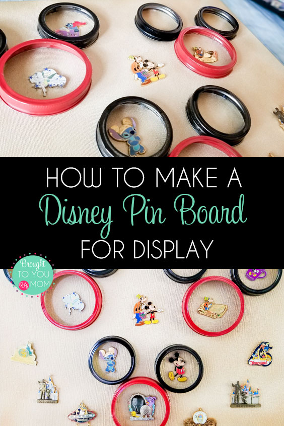 How to Make a DIY Disney Pin Board