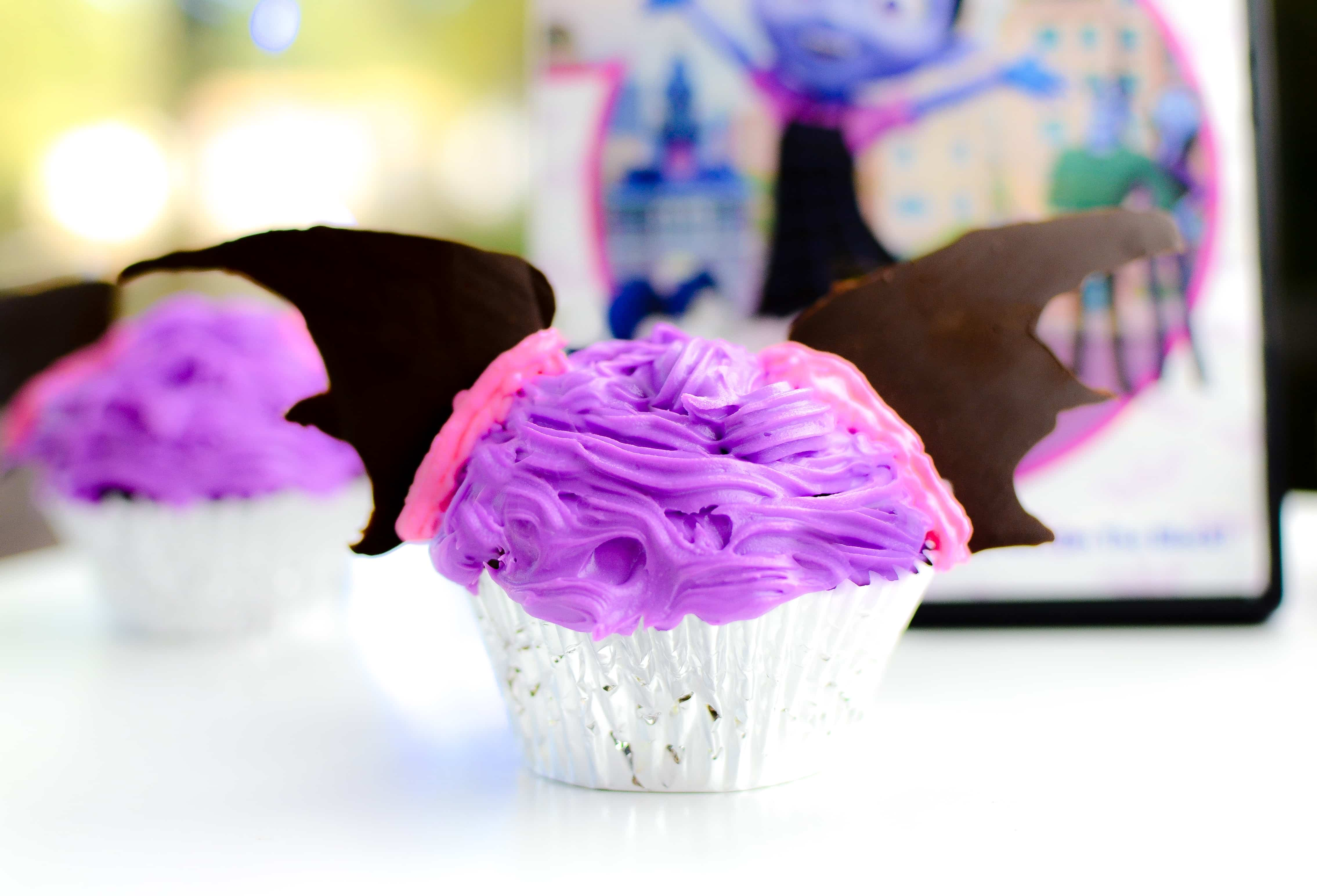 Vampirina Cupcakes Vampirina Birthday Party Ideas