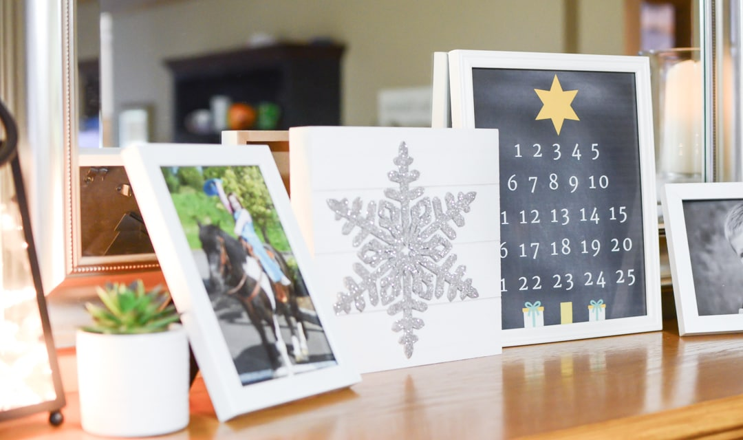 Christmas Countdown Printable Layout