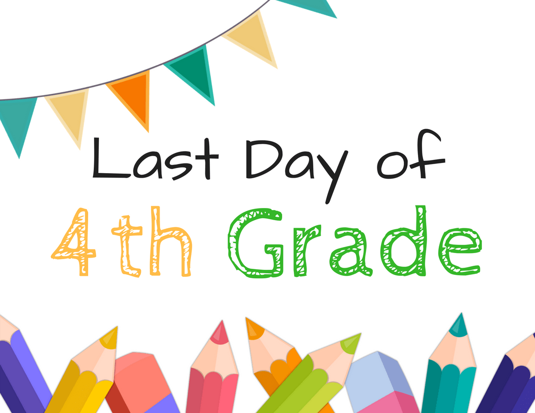 These Last Day of School Sign Printables are perfect for those memories of the last day of school for those in grade school. Easy to print and use.
