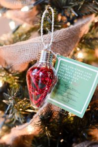 """Personalize Ornaments for Kids to make are the best homemade Christmas ideas. This """"How Tall This Christmas"""" DIY personalized ornament is a great gift."""