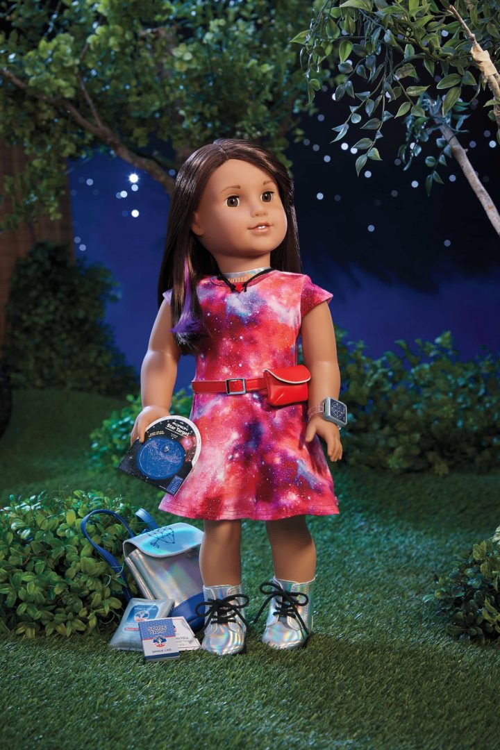 Luciana Vega is The 2018 Girl of the Year from American Girl. Inspiring kids to reach for the stars through the idea of STEM education and beyond.