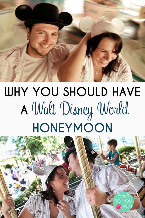 Why Book a Walt Disney World Honeymoon