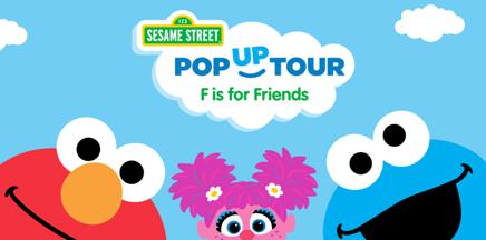 Sesame Street Pop Up Tour in Seattle, Washington. Meet Elmo and Abby Cadabby!