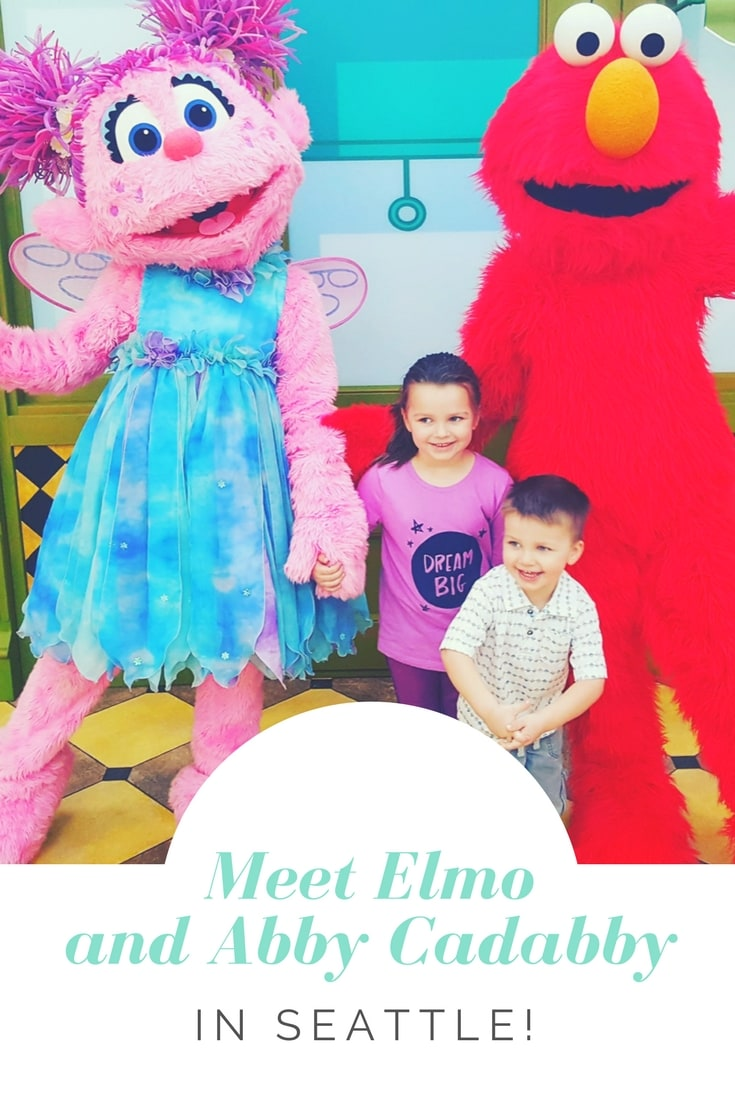 Meet Elmo and Abby Cadabby in Seattle!