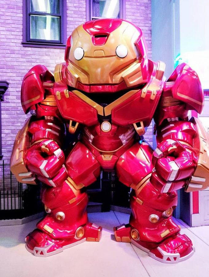 Iron Man at Funko HQ
