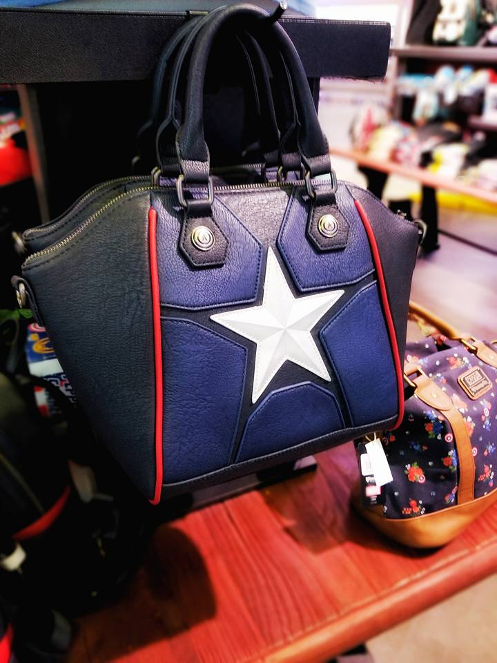 Captain America Purse by Loungefly at Funko HQ