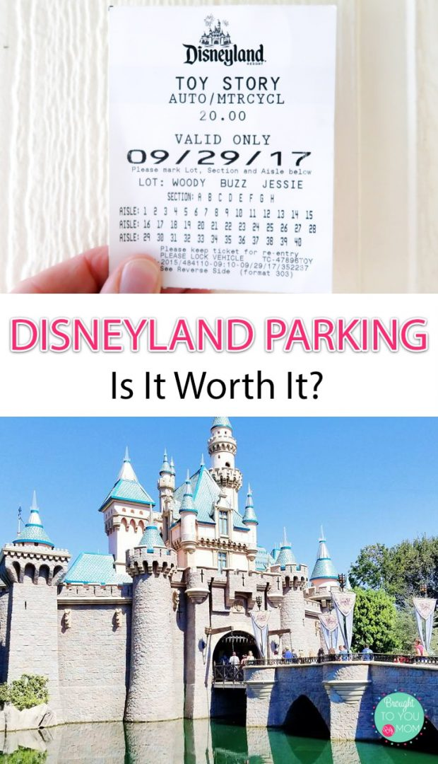 Disneyland Parking Fee - Is it worth it?