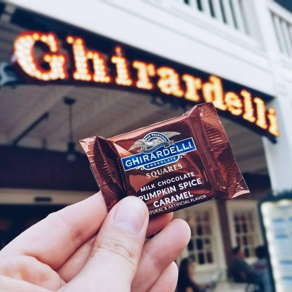 Ghirardelli Chocolate at Disney California Adventure Park