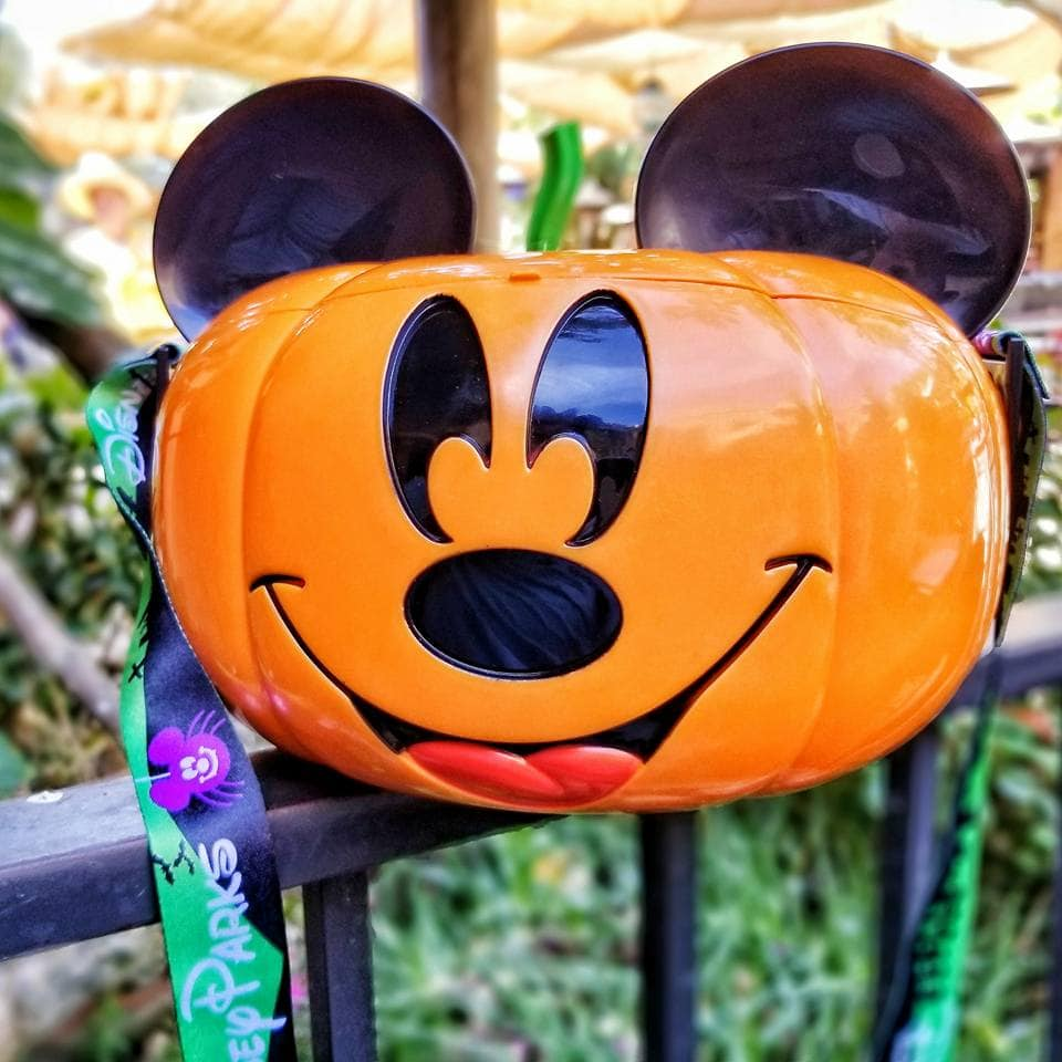 Mickey Mouse Halloween Popcorn Bucket