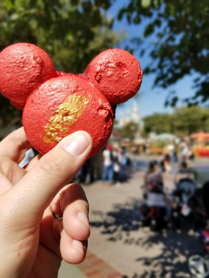 Macaron at Disneyland
