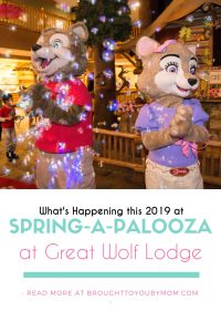 Great Wolf Lodge Spring-A-Palooza List of Events