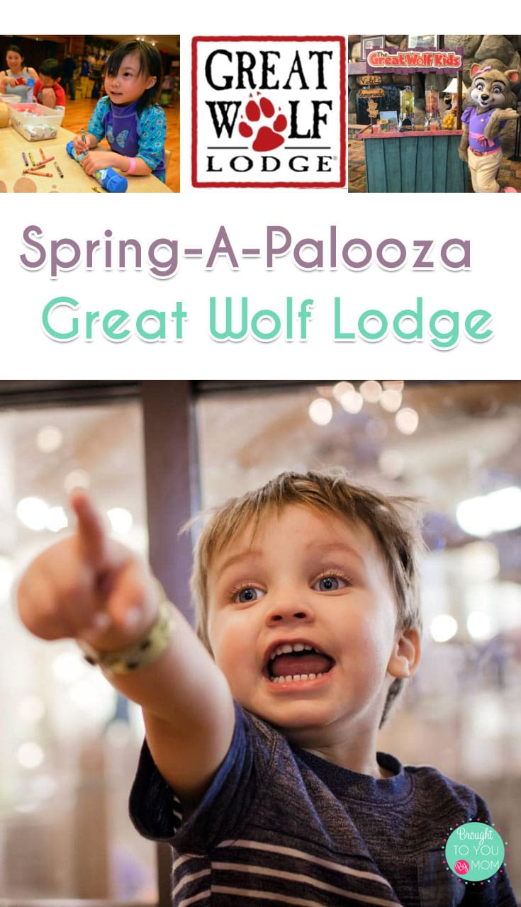 Spring-A-Palooza at Great Wolf Lodge Grand Mound marks the perfect time to begin planning spring family travel. Get outdoors, learn about spring craft ideas, and have fun at Great Wolf Lodge Grand Mound this spring! #greatwolflodge #familytravel #travel