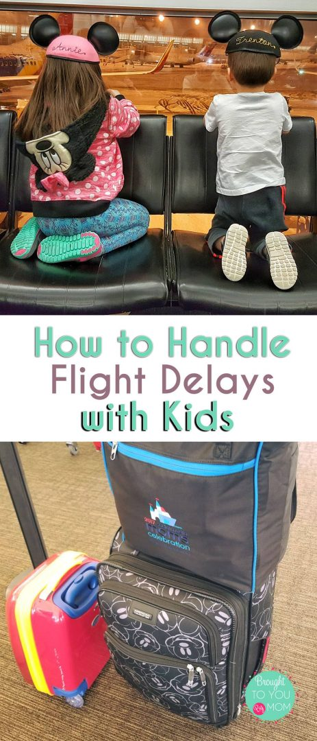 flight delays with kids pinterest