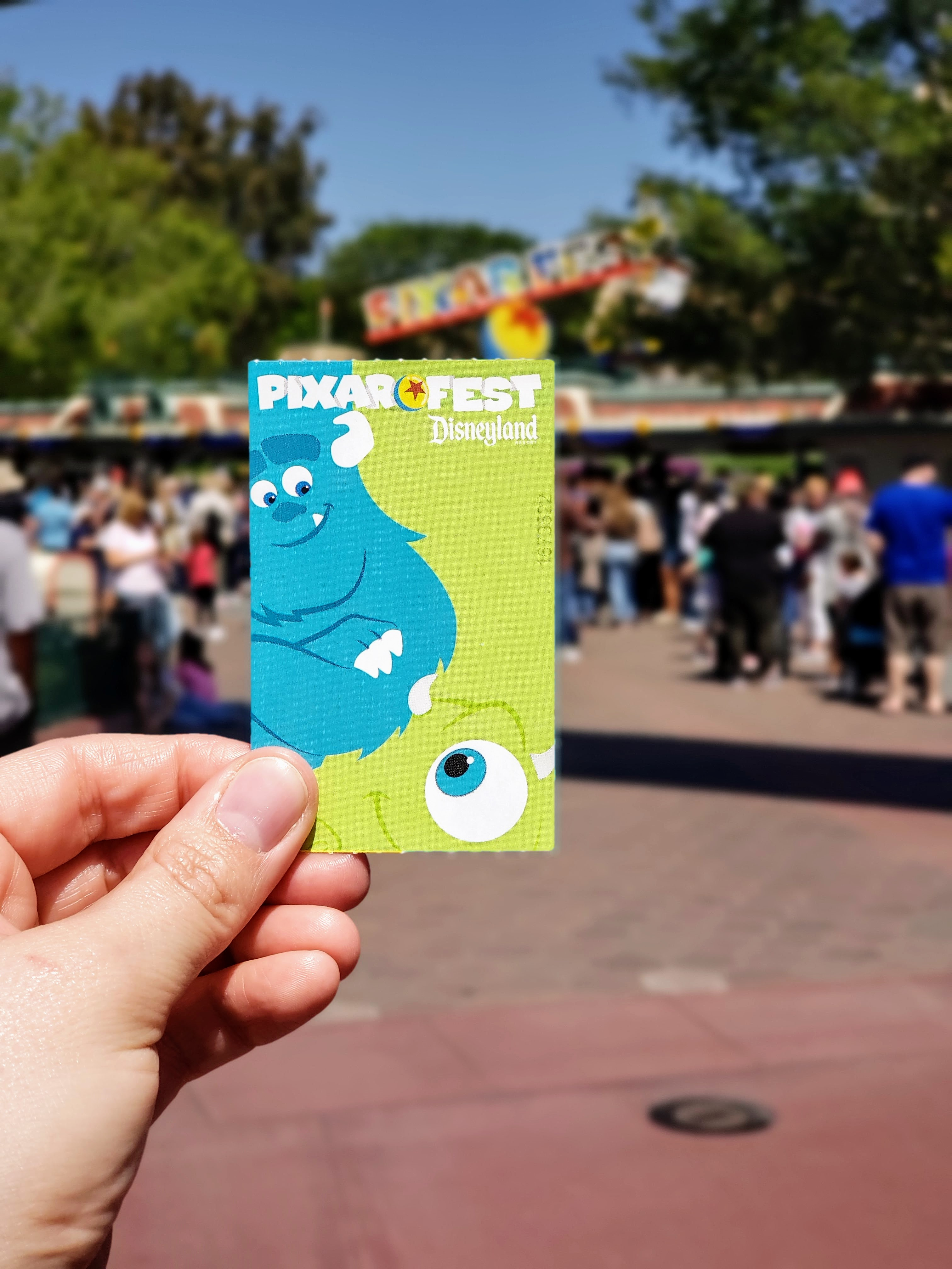 Pixar Fest Disney Tickets