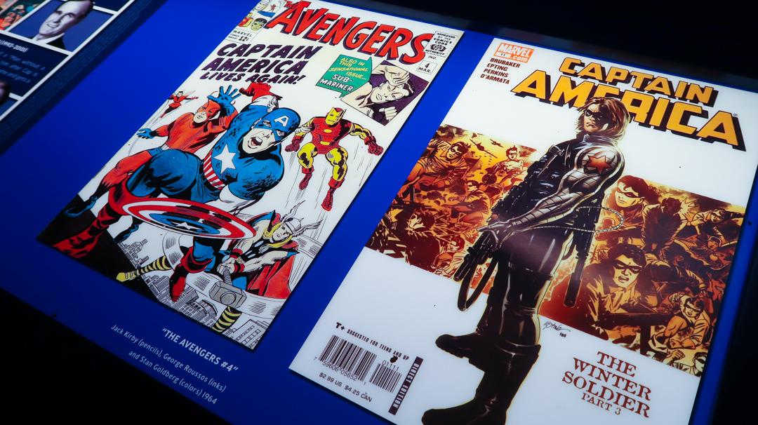 Captain American Comics
