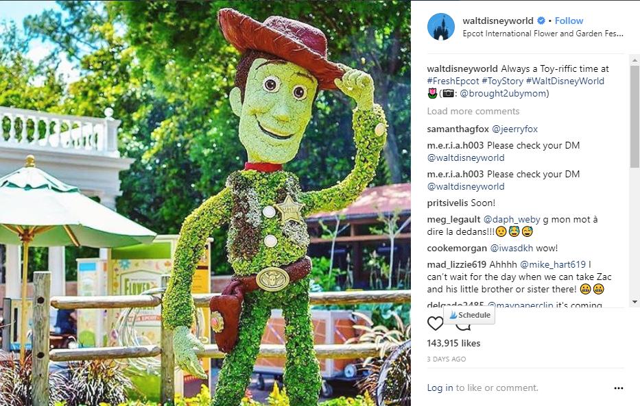 Walt Disney World Instagram Brought2UbyMom