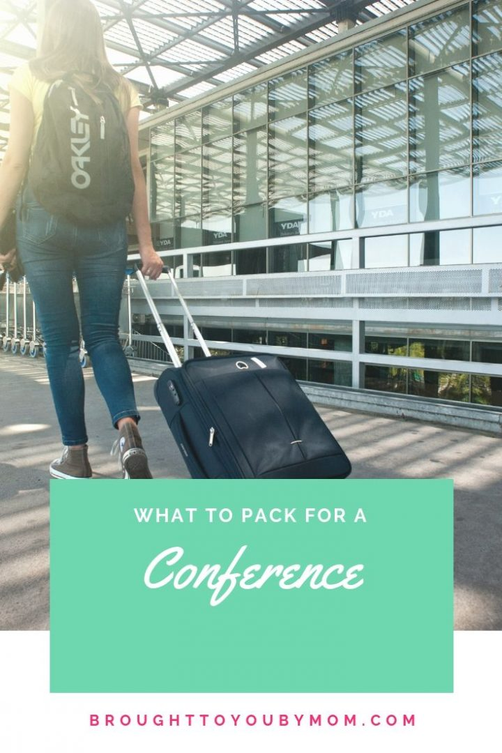 What to pack for a conference list